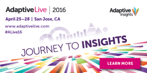 Adaptive Live annual user conference - Journey to Insights,