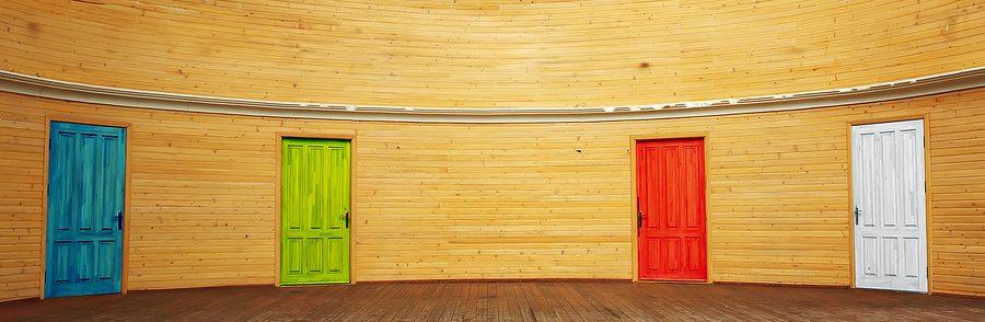 Four doors. Element of design.