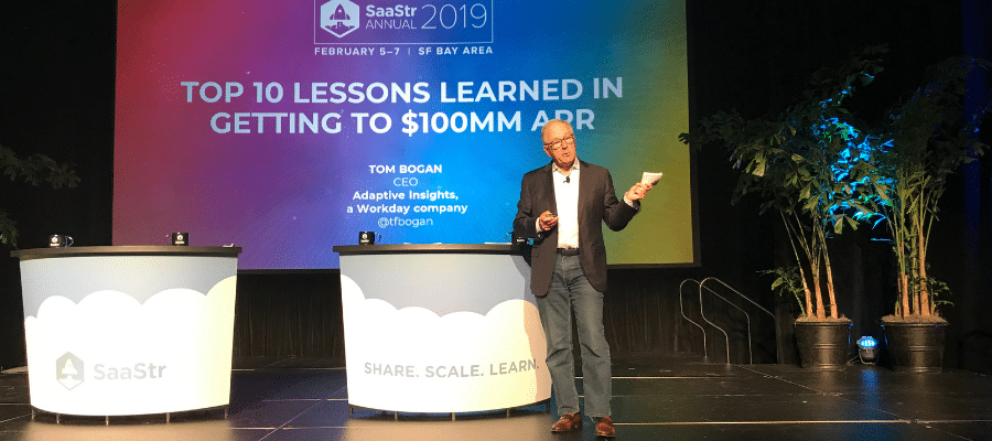 In this blog, Tom Bogan, executive vice president, Planning Business Unit, shares helpful lessons for anyone responsible for the success of a SaaS business.