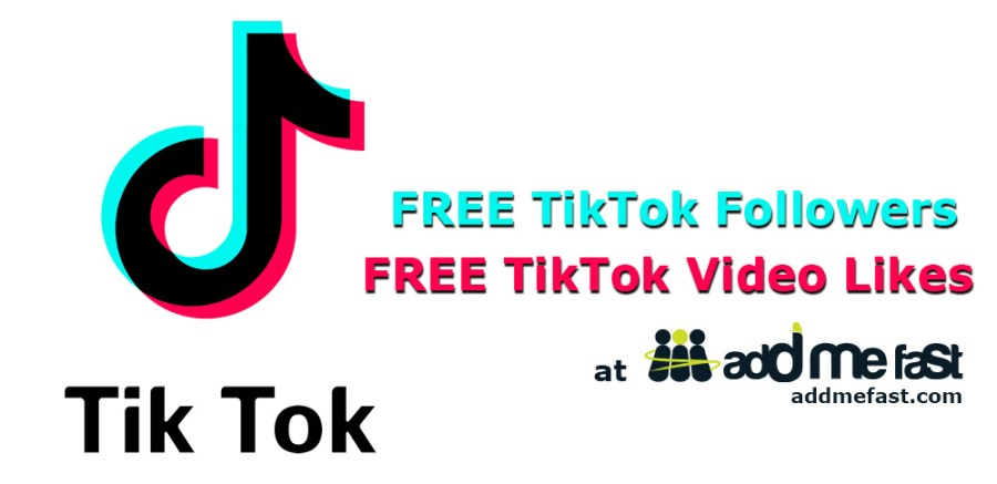 Free TikTok Followers and Video Likes