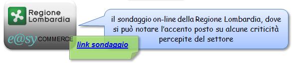 sondaggio Lombardia e-commerce