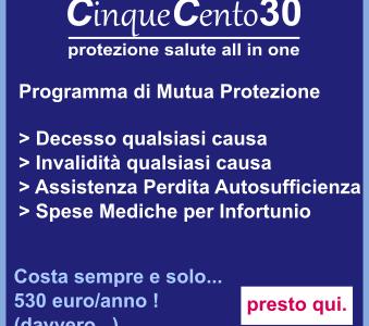 CinqueCento30: Programma di Mutua Protezione