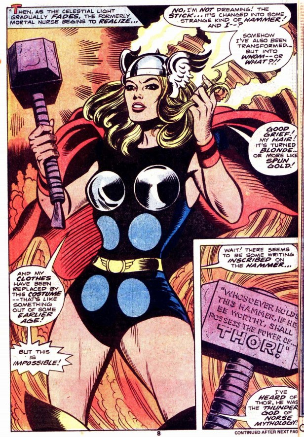Meet Jane Foster of Earth-788, also known as Thordis.