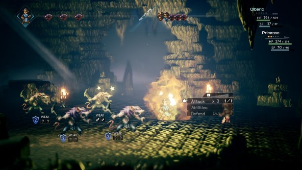Project Octopath Traveler Battle