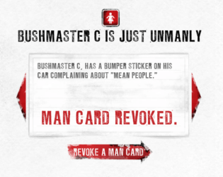 Man Card revoked!