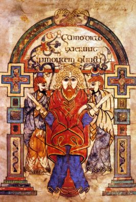 Image from the Book of Kells
