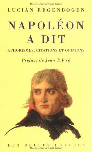 Napoleon a Dit