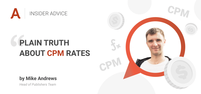What Affects CPM Rates For Publishers