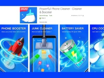 Phone Cleaner Advertising Offer