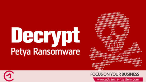 Ransomware : Nouvelle attaque de type PETYA