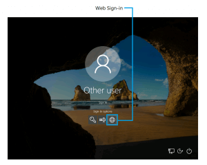 windows 10 sign-in