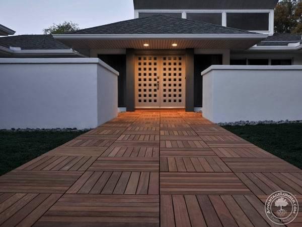 build a deck over a concrete patio