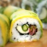 Tem sushi para veganos?