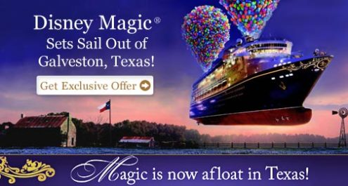 Disney Cruise Line Will Sail Out of Galveston