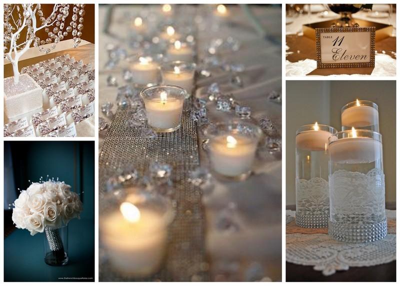 Rhinestone Wedding Decorations