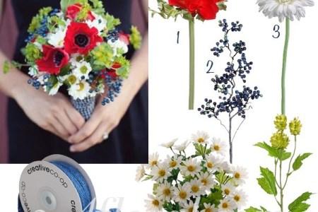 red white blue wedding bouquets » New Artist 2018 | New Artist