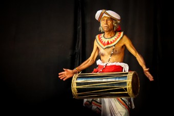 The drummer by Kenneth Gray. Kenneth Gray captured this image of an older man drumming at a cultural show in Kandy, Sri Lanka.