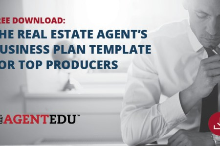 Free Business Plan Download   AgentEDU Blog The Real Estate Agent s Business Plan Template for Top Producers    AgentEDU com