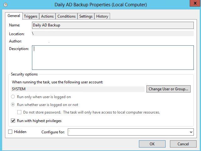 Active Directory backup 3