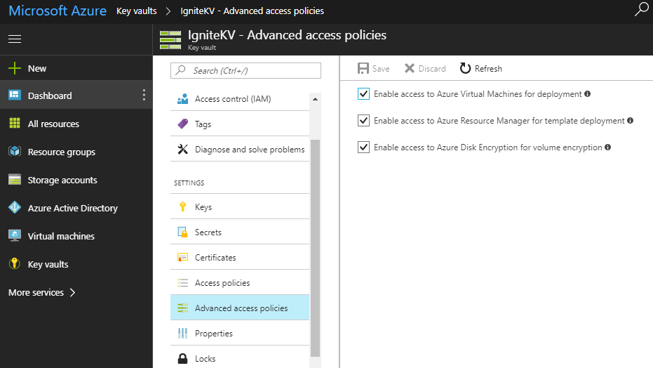Azure key vault with PowerShell 9