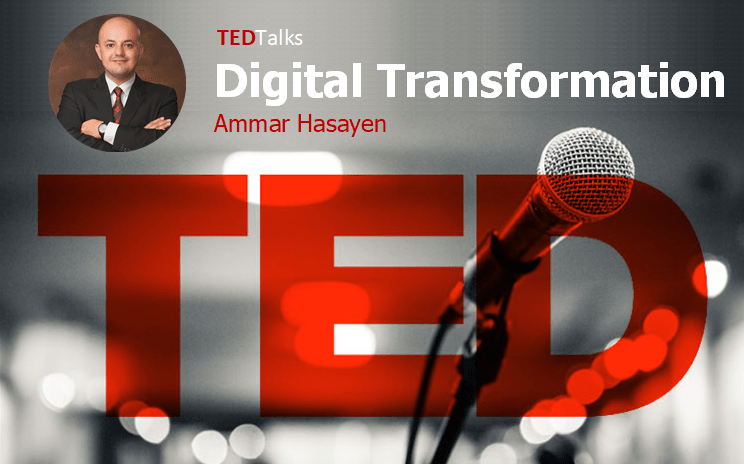 TedTalks Poster - Digital Transformation