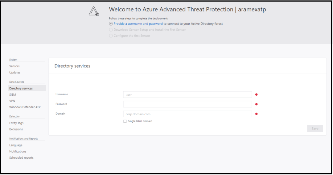 Azure advanced threat protection deployment 13