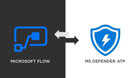MS Flow and MS Defender ATP Integration