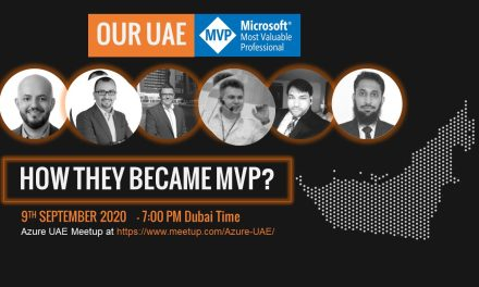 Learn from UAE Microsoft MVPs – How To Become One?