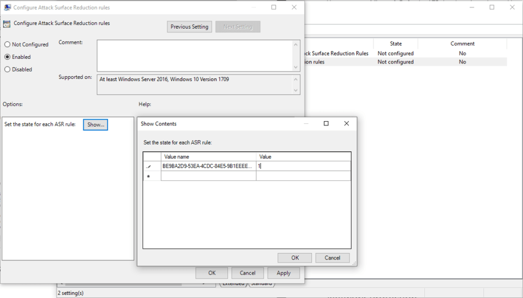 MS Defender for Endpoint - Attack Surface Reduction ASR 4