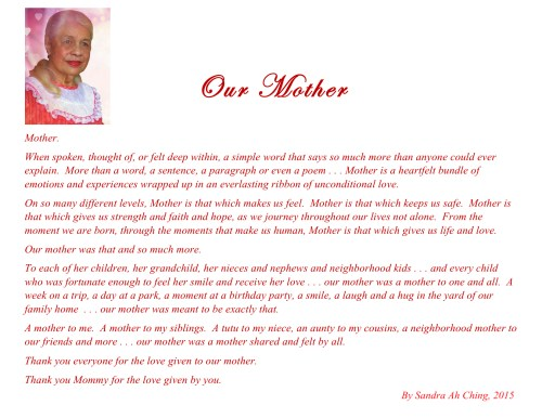 Our Mother (graphic)