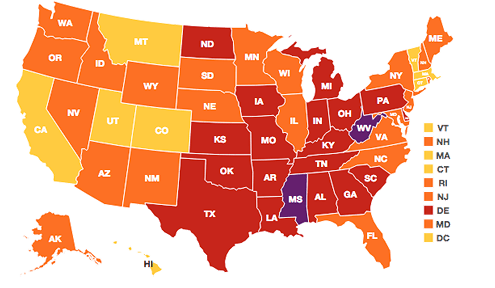 Obesity Report: How Does Your State Rank?