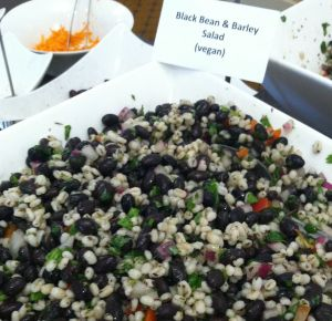 Black Bean & Barley Salad for Day 2 lunch