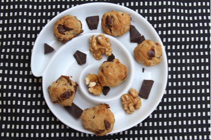 Makeover Chocolate Chip Cookies, Sweetening Power with Dates