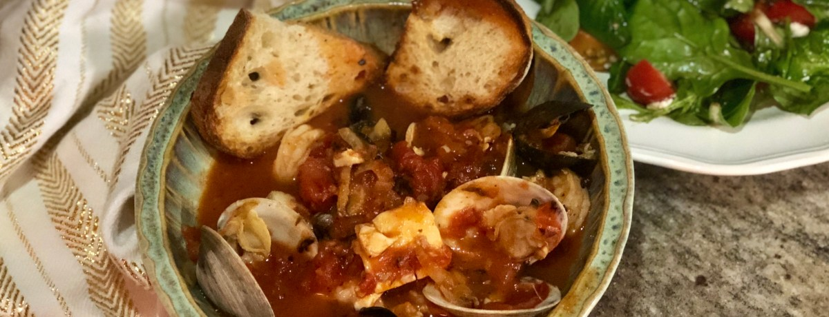 Easy Meal Prep for Holiday Cioppino