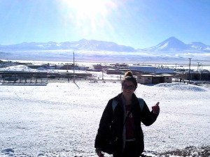 snow in the Atacama Desert