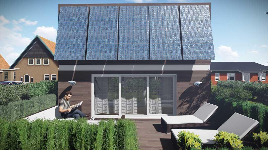 Mobiles Haus als Ferienhaus