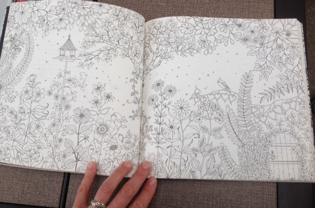 secret garden coloring book aimee cartier blog
