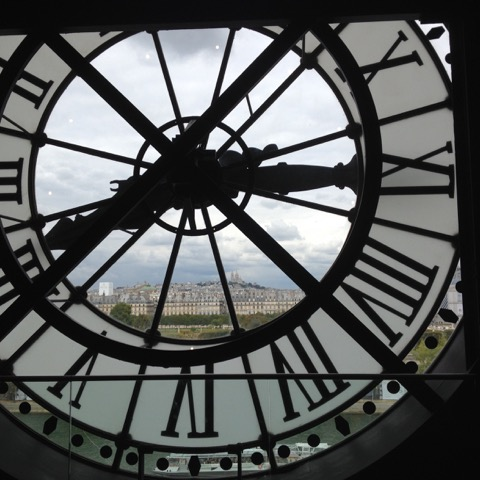 I heart this clock. Musee D'Orsay Aimee Cartier blog