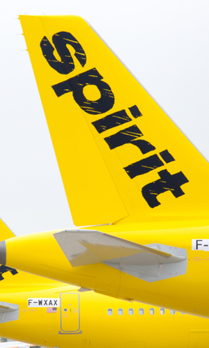 spirit airlines livery tail