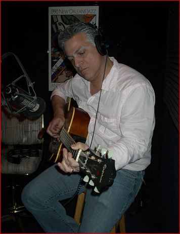 Attorney by day, song writer & troubadour by night, Greg DiLeo  records his music at Airlift Productions