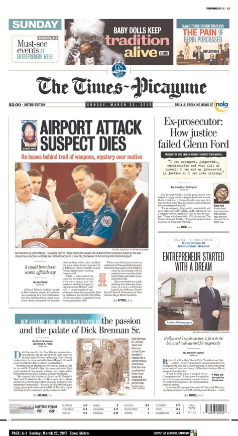 Times-PicayuneFrontPage3-22-15AirliftProductions