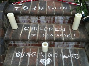 Memorial to the Sandy Hook Elementary boys & girls of Newtown