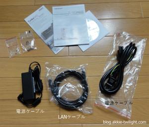 QNAP TS-110(NAS)の内容物