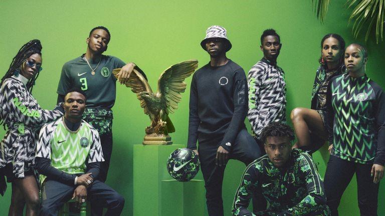 Nigeria 2018-2019 voetbalshirt