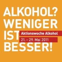 Logo: Bundesweite Aktionswoche Alkohol 2011
