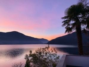 Foto von einem Sonnenuntergang