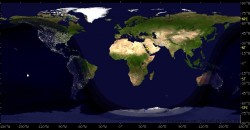 Night and Day Region of the Earth on 16 July at 9:27 GMT.