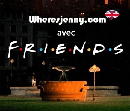 Commencez votre apprentissage d'anglais avec nous par aide de Friends.