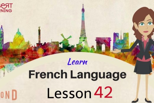 Watch this video and learn basic French words online.