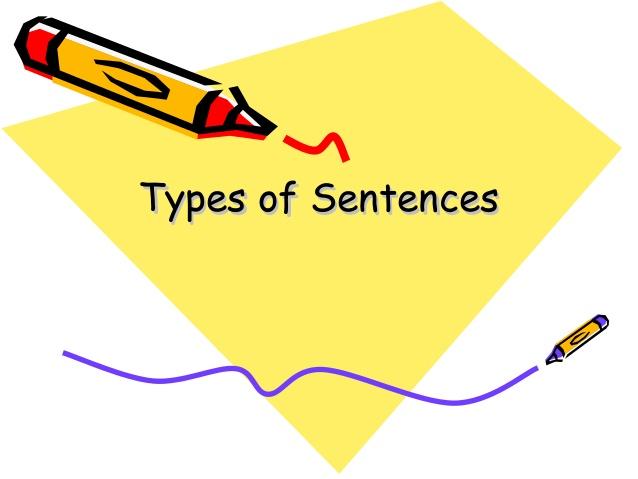 Quiz on Types of Sentences